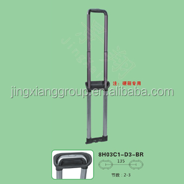 2015 New style luggage handle replacement parts fix luggage handle retractable luggage handles made in guangzhou