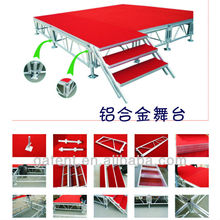Portable Aluminum Plywood Stage Wooden Stage
