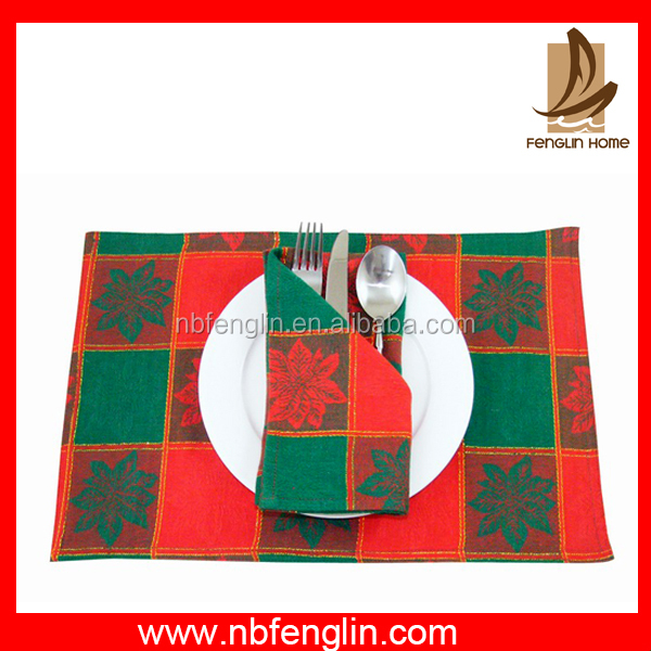 Hot Selling Plastic Table Pvc Placemat,high quality,waterproof wholesale fabric placemats