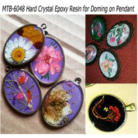 No Yellowing Clear Liquid Epoxy Resin for Doming on Pendant