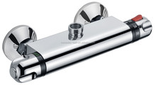 High quality exposed thermostatic shower mixing bar valve