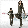 impressive slim grey yoga's wear for women