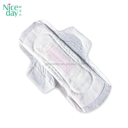 OEM Brand Factory Ladies day use disposable breathable winged anion feminine sanitary napkins manufacturer