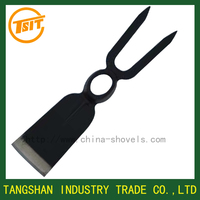 forged Steel garden fork hoe