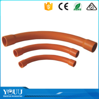 YOUU Wenzhou Factory 100mm PVC Electrical Sweep Bend Pipe For Conduit Wiring