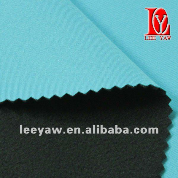 bonded fabric made of high breathable TPU and micro fleece fabric