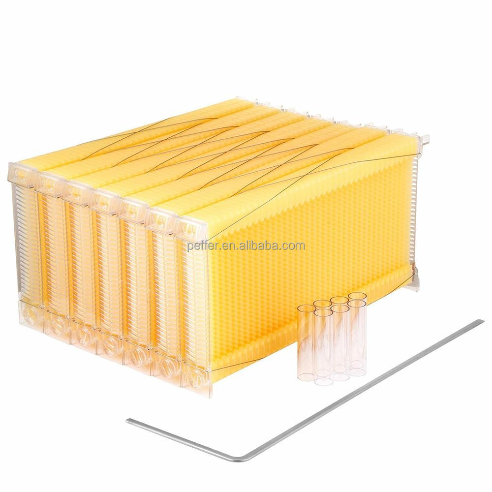 Peffer automatic honey flow bee hive frames plastic beehive frame with comb
