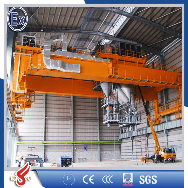 indoor and workshop Competitive Advantage Explosion Proof EOT Bridge Crane OEM