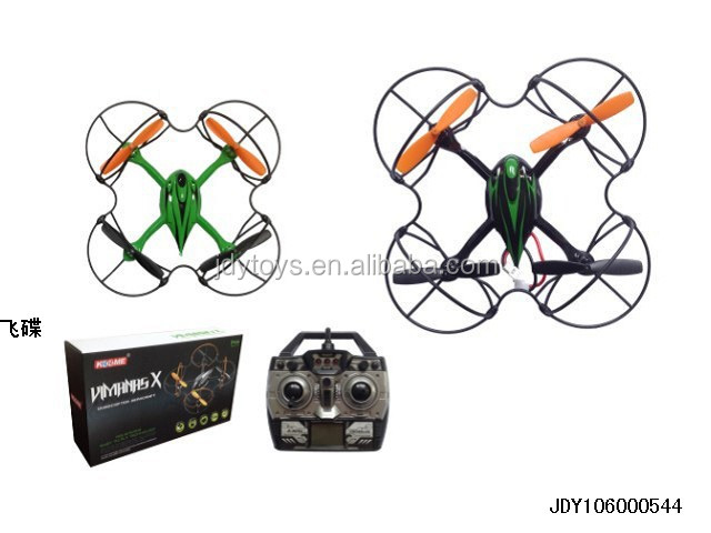 Hot Selling Kid Toy 4 Channel 6 Axis Gyroscope Remote Small Flying Saucer ,Wholesale China Plastic Toy RC Toy