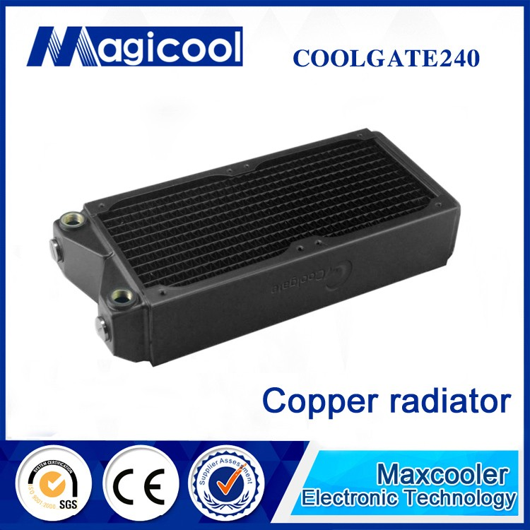 Best Quality Copper Radiator for computer or cpu 60mm thickness 360mm length COOLGATE,Liquid cooling radiator