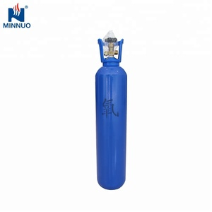 Empty hydrogen gas cylinder 50L oxygen/co2 filling bottle DOT TPED