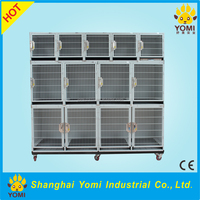 Japan YM-JY-001CE Certificate iron and Stainless steel large dog cage