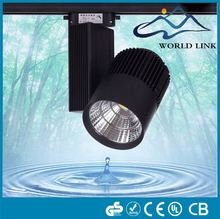 30W LED track lighting art gallery exhibition spot light