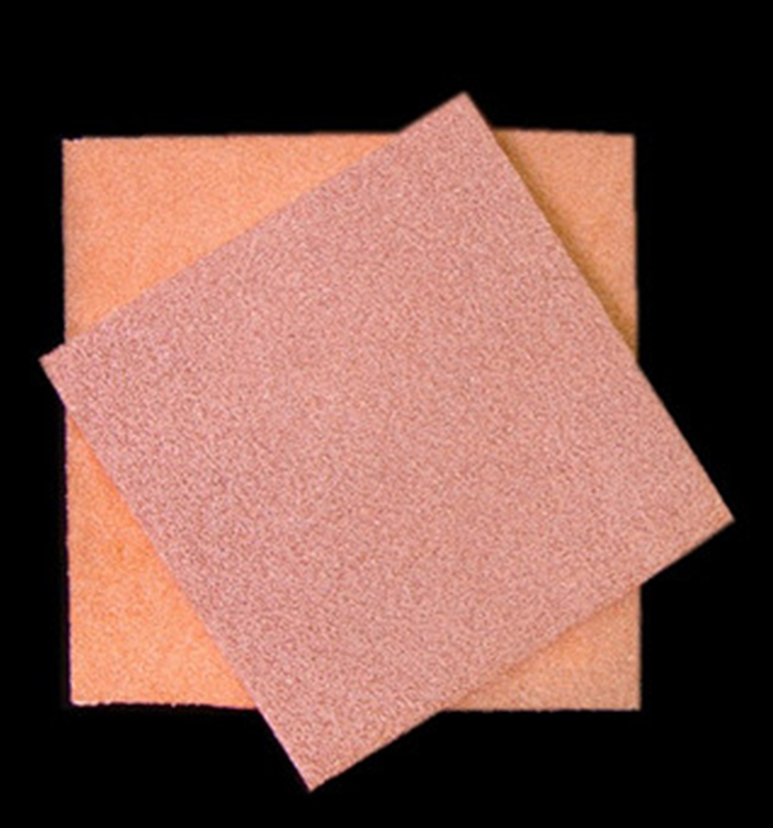 decoration material  Copper Metal Foam manufacturer
