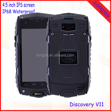 "2016 Latest 4"" Quad Core Dual SIM Android 5.0 3G WCDMA GPS Rugged Waterproof Smartphone Low Price"
