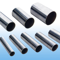 China Manufacturers Decorative 304 / 316 Stainless Steel Round Metal Pipe