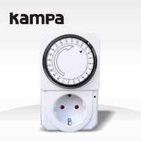 Kampa DHC15 16a 12 volt dc timer switch, mechanical electrical timer, 24 hours timer switch