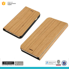 Factory wholesale new product wood blank flip phone case for iphone 7