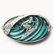 custom 3D belt buckle low price Men Silver belt buckle hot sales custom made 3D buckle