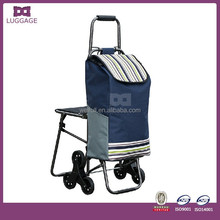 Folding Portable Shopping Climb Stairs Trolley Bag
