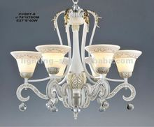 2012 Iron Chandeliers,crystal,CH007-6