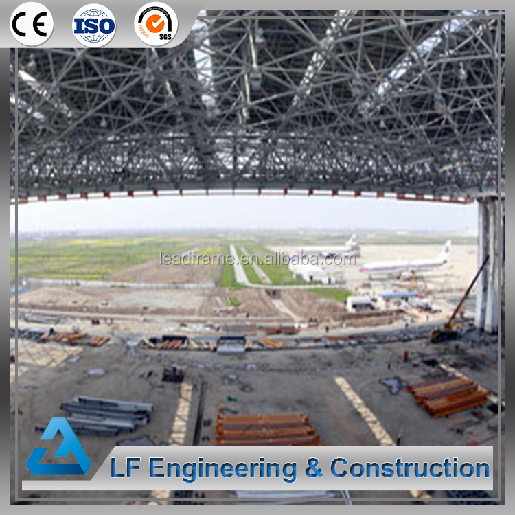 Light Steel Structure Togo project with aircraft hangar