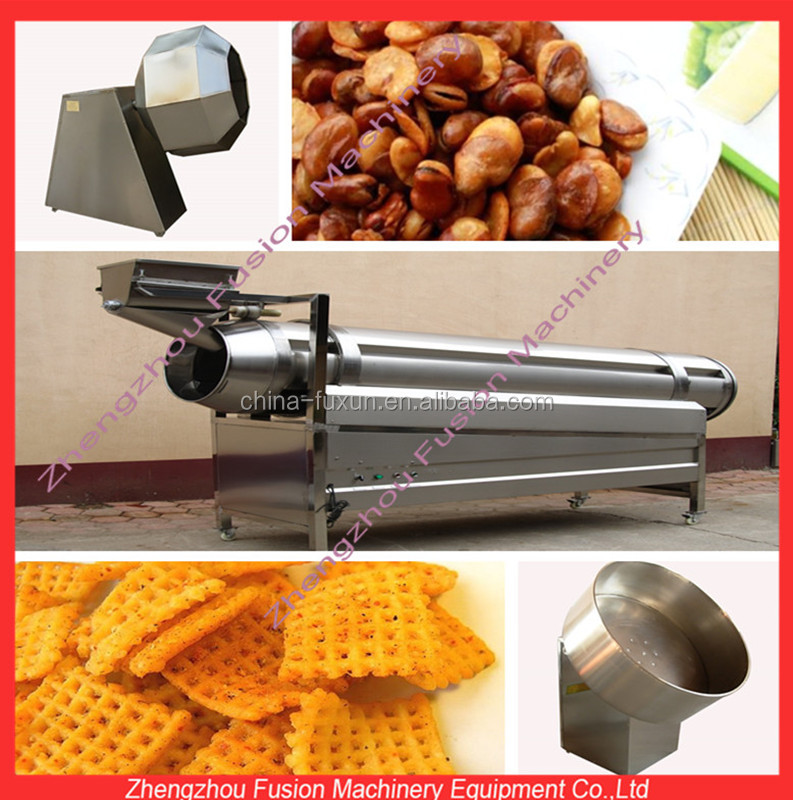 NEW DESIGN seasoning machine/potato chips seasoning machine/seasoning mixing machine