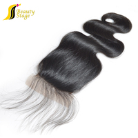 New arrival 6A Body Wave Natural Color Virgin remy Brazilian Hair 2.5*4 magnetic closure gift box free closure