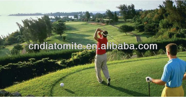 soil conditioner diatomite for golf course management