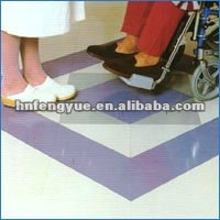 Non-Slip Quartz Sand vinyl tile flooring pvc for bathroom