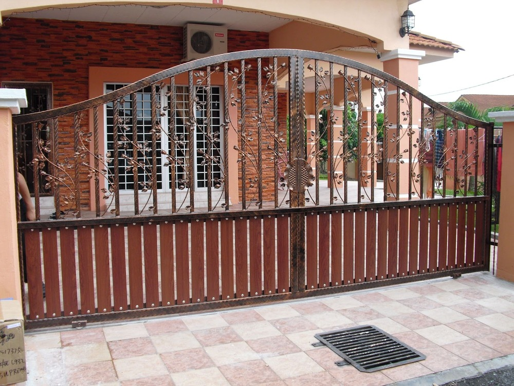 Perfect Made In China Sliding Iron Main Gate Designs/Main Gate Designs