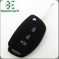 Auto Accessories New Product 100% Silicone Automobile Remote car key case for brand car vespa accessories