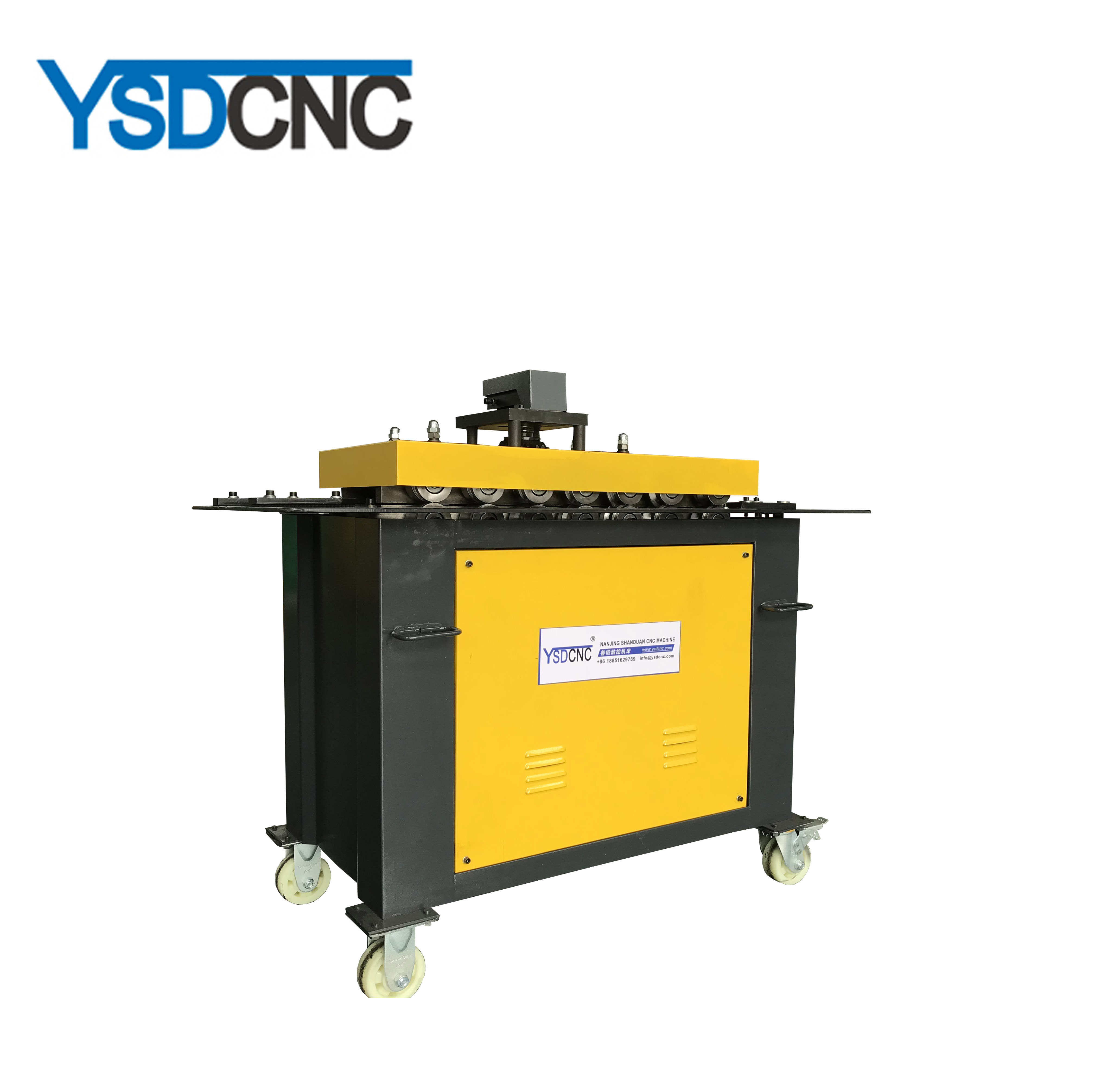 SA-12 Ventilation Air Duct square pipe lockformer sheet metal <strong>equipment</strong> for sales