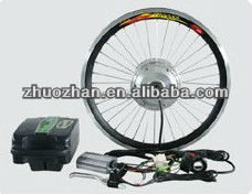 Electric bike coversion kits 36V 10Ah Lithium battery