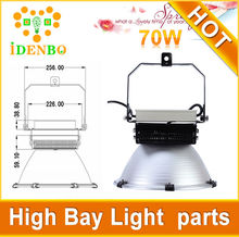 Aluminum housing 70w 100w 150w 200w high bay led flood light CREE Meanwell driver led high bay light