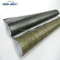 Durable new style stretchable car body protect python snake skin vinyl sticker