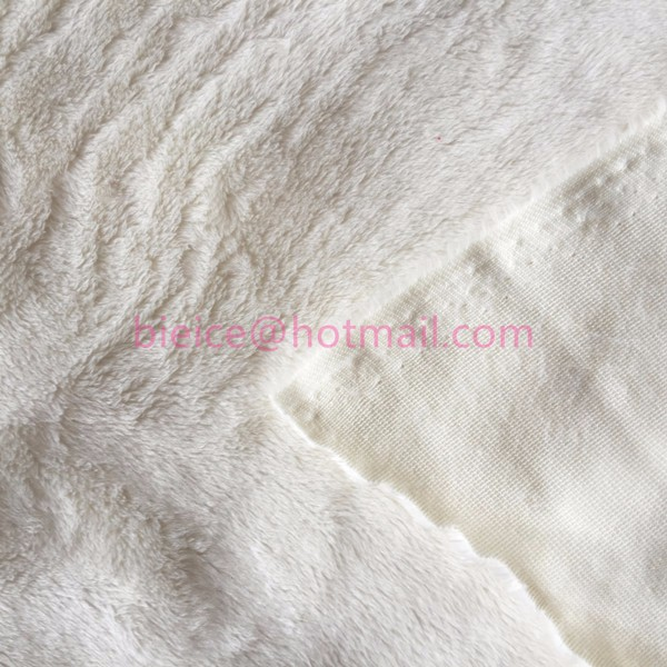 quality 3mm white and coloured/patterned minky fabric/cuddle soft fleece for high end baby products