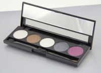 NO LOGO!Pro 5colors shimmer eyeshadow palette multi-colors make up eyeshadow eyeshadow shiner