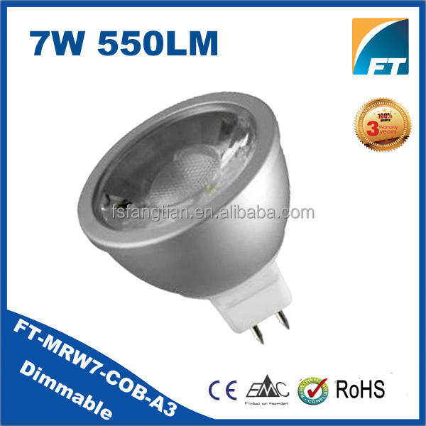 Alibaba express China led mr16 cob 6w 24V GU5.3 led lamp,led spot light,led spot lamp