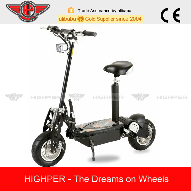 electric scooter with big wheel (HP107E-B)