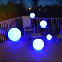 PE material Diameter 20,30,40,50,60cm led ball water ball lighting moonlight led ball light