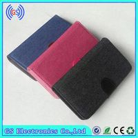 Wallet Case For Motorola Droid Turbo Fashion Jeans Universal Clip Protective Shell Slide Up Case