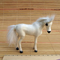 2014 plastic animal toys promotional small cheap plastic toys pony