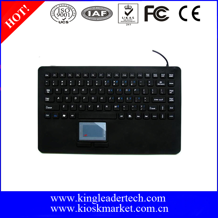 Medical Grade Industrial Silicone Keyboard for Hospital Use