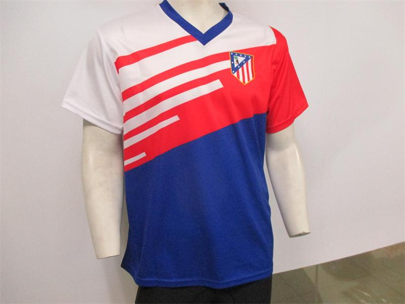 Sublimation Cheap custom soccer uniform full set football jersey