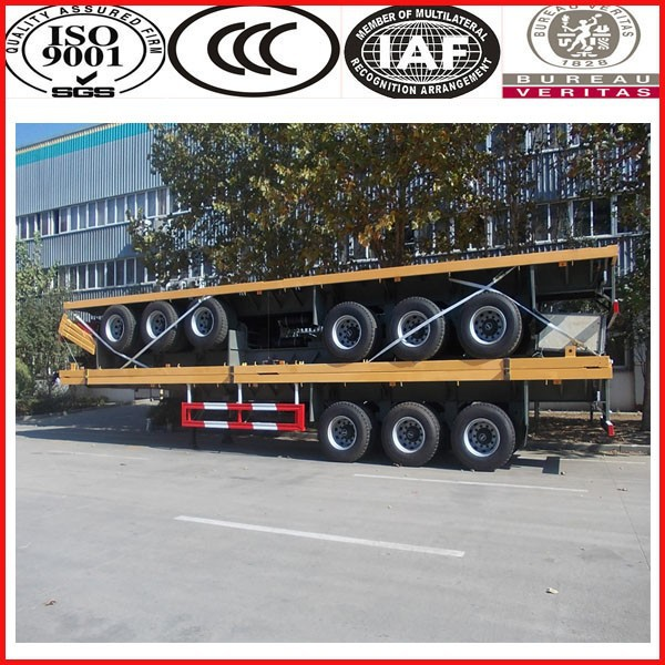 China top brand!!!SINOTRUK strong 40ft container trailer price