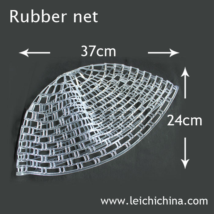 Chinese factory fly fishing rubber fish landing nets