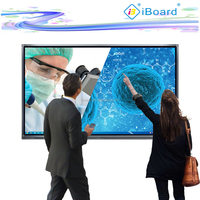 80 inch FHD Interactive LED Display All In One PC Multi Touch Screen