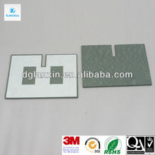 Die cut EPDM rubber sheet with adhesive