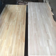 UV coated pine finger joint wood board